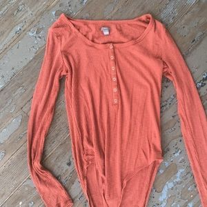 Aerie long sleeve body suit